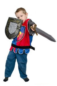 child-and-knight-dress